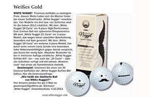 White Nugget im Golftime Balltest