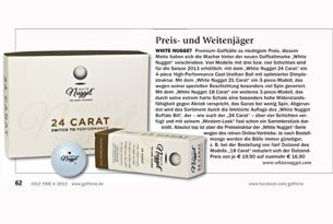 White Nugget in der Golftime