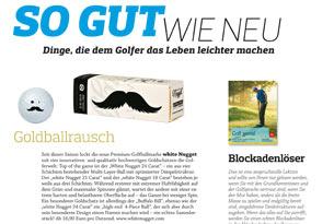 Goldschatz in der Süddeutschen Zeitung