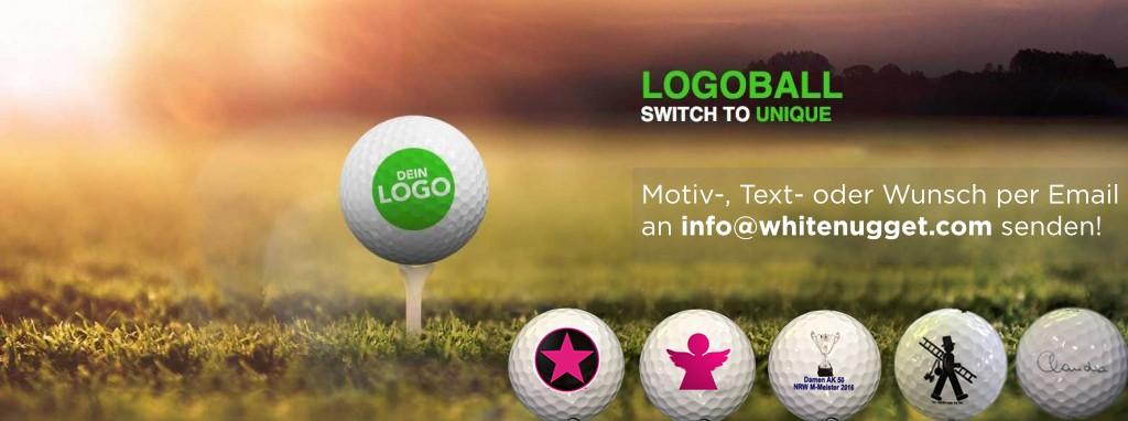 Personalisierte Premium Golfbälle ab dem ersten Dutzend.