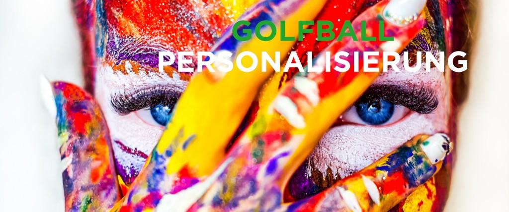 Personalisierung, Golfball, Bedruckung, Logoball