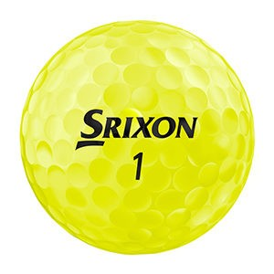 Srixon Z-STAR6-Hero_Tour-Yellow