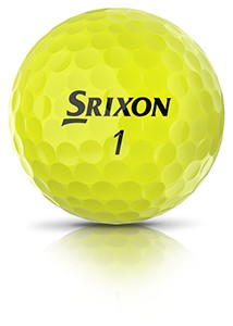 Srixon Q-STAR-TOUR-3-Hero_Tour-Yellow