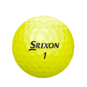Srixon SOFT-FEEL-BRITE-YELLOW