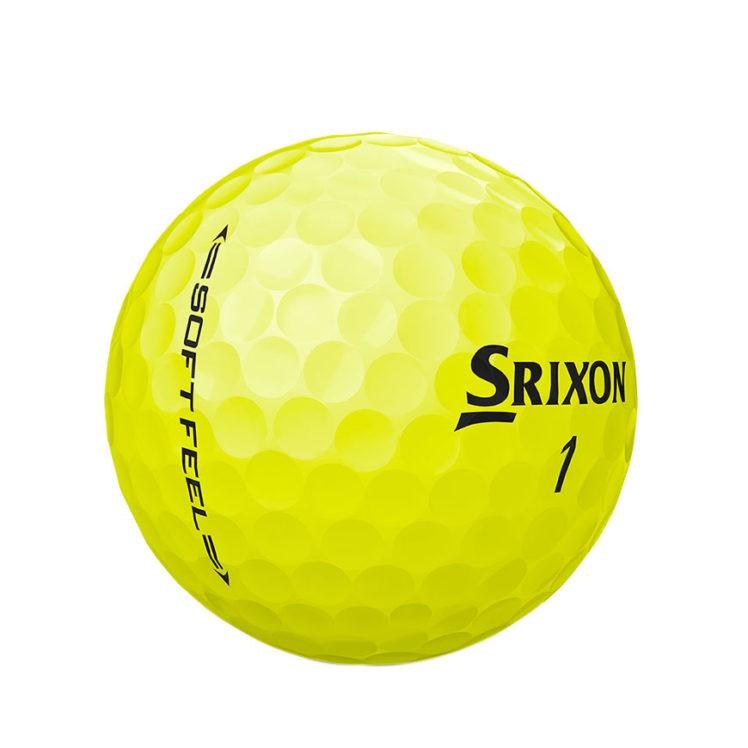 Srixon SOFT-FEEL-BRITE-YELLOW