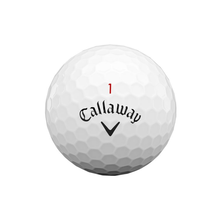 Callaway chrome-soft-golf-ball-2020-white-front-view