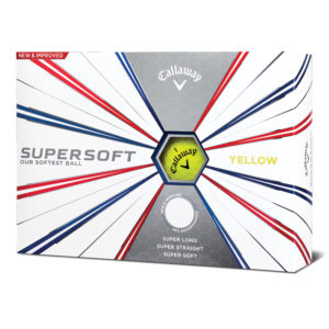 Callaway supersoft-2019-12-ball-yellow-box